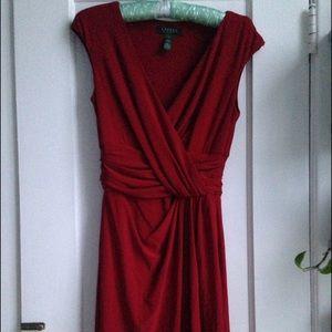 Ralph Lauren red dress, size 4