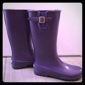Sperry Shoes | Purple Rainboots | Poshmark