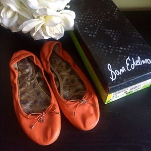 Sam Edelman Shoes - Sam Edelman Bow Ballet Flats EUC