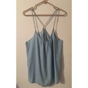 New York & Company Tops - Chambray Tank 🌞