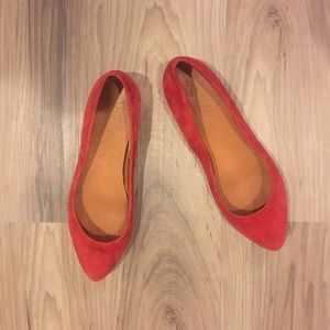 Madewell Shoes - Madewell Flats - 1937 Suede Sidewalk Skimmers