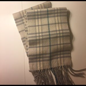 """Burberry Accessories - Authentic Burberry scarf. Approx 96""""  x 10"""""""