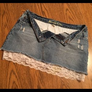 Dresses & Skirts - Abercrombie and Fitch Denim Skirt