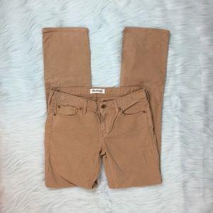Madewell Pants - Madewell Rail Straight Corduroy Pants Size 27x34
