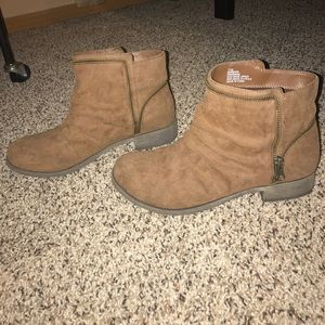 MIA Shoes - Brown ankle Boots