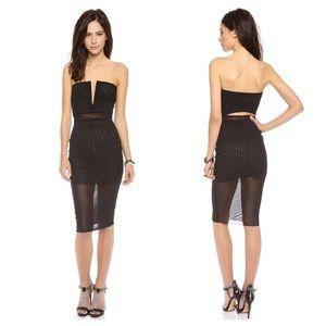 Bec & Bridge Dresses & Skirts - Bec & Bridge Nefertiti Strapless Black Dress 4