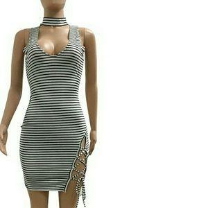 Striped Summer Dress 2017 New