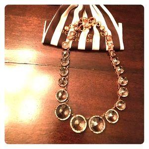 henri bendel Jewelry - Henri Bendel Gold crystal collar necklace