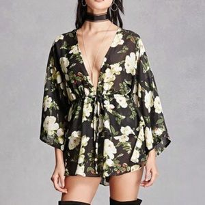 Forever 21 Other - FLORAL ROMPER WITH TAGS STILL ON! 💕