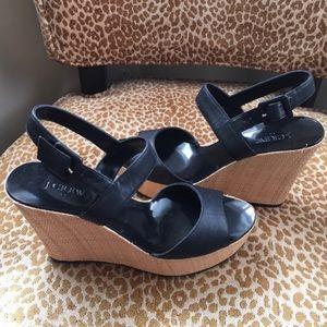 J. Crew Wedge Sandals