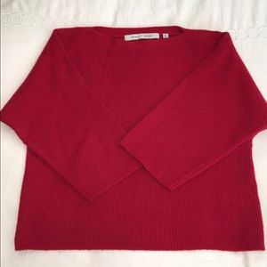 Lemaire Sweaters - UNIQLO and LEMAIRE red boat neck sweater XS