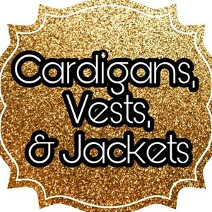 Sweaters - Cardigans, Vests, and jackets