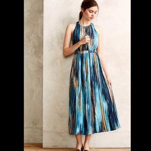Paper Crown Dresses & Skirts - Paper Crown Rivier Midi Dress in Blue