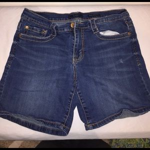 Jessica Simpson Pants - Jessica Simpson weekender slouch jean shorts