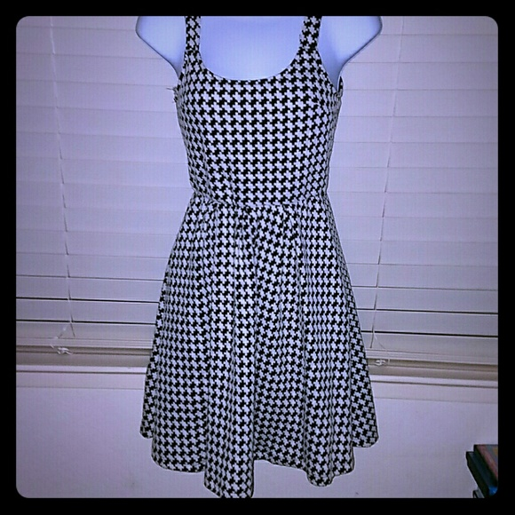 Auditions Dresses - *Classic Style Hounds Tooth Dress*