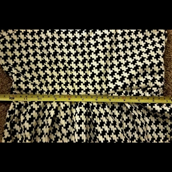 Auditions Dresses - *Fit & Flare Style Hounds Tooth Dress*