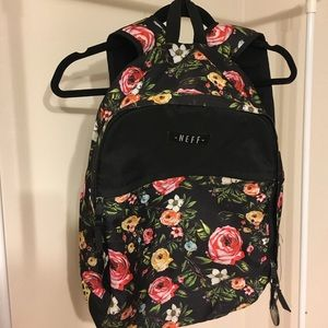 Neff Handbags - Neff Commando Floral Camo Print Backpack
