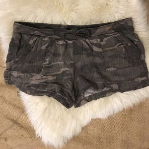 Rewash Pants - - Camo Cloth Shorts  by REWASH  -