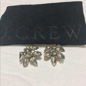 J. Crew Crystal Stud Earrings