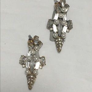 J. Crew Pearl Earrings