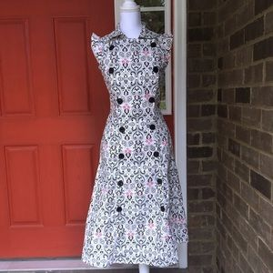 eshakti Dresses & Skirts - Military Inspired Patterned Double Breasted Dress