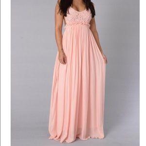 Fashion Nova Dresses & Skirts - Blush Pink FashionNova Maxi Dress