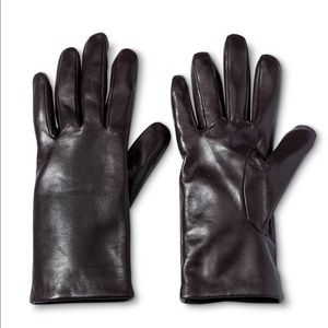 3M Thinsulate Accessories - NWT chocolate leather gloves