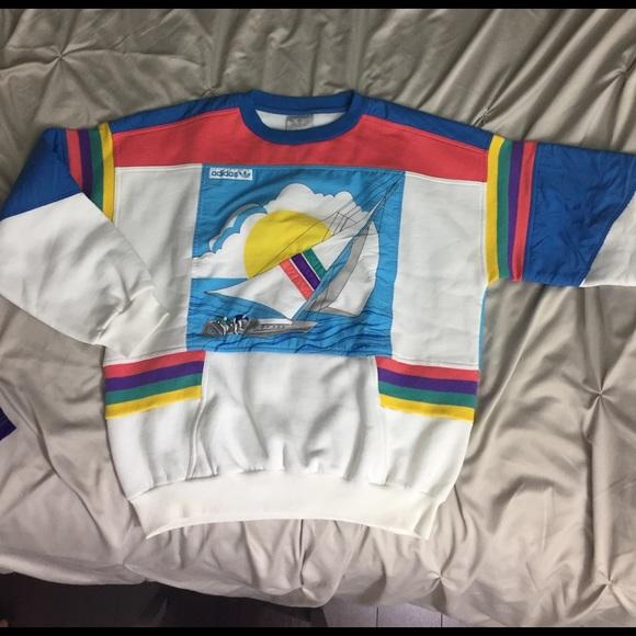 9f011b1071dea2 Adidas Other - Men s vintage Regatta Adidas sweatshirt