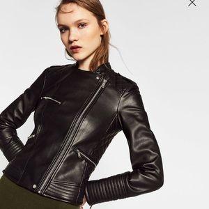 Zara Jackets & Blazers - Zara biker jacket