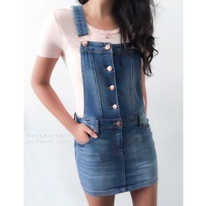 Tinseltown Dresses & Skirts - Denim overall Dress