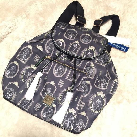 2ddf4b87951 Dooney   Bourke haunted mansion Disney backpack