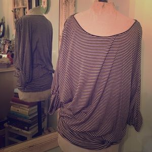 Tops - Loose Striped Top