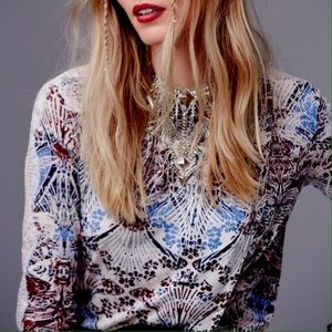 Free People Tops - Free People Nouveau Lace Blouse