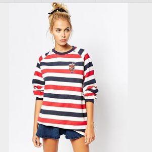 Lazy Oaf Sweaters - LAZY OAF COLA SODA STRIPED SWEATER DRESS JUMPERISO