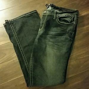 a.n.a Denim - a.n.a. Dark Wash Boot Cut Denim Jeans