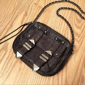 Rebecca Minkoff Handbags - REBECCA MINKOFF stingray boyfriend Crossbody bag