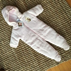 Absorba Other - NWT Absorba sweater bunny pram