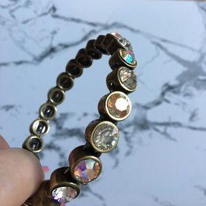Swarovski Jewelry - Kirks Folly antique Swarovski crystal bracelet
