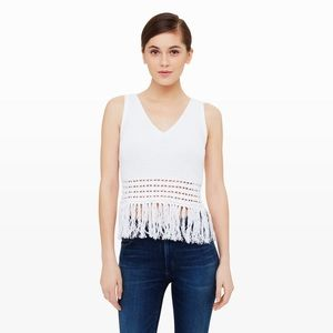 Club Monaco Tops - Club Monaco Fringe Sweater Tank