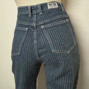 Sergio Valente Denim - Vintage Sergio Valente High Waist Jeans 28 Tapered