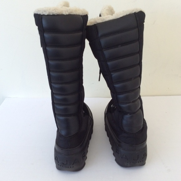 pajar Shoes - Pajar Canada women's snow black boots size 9 40