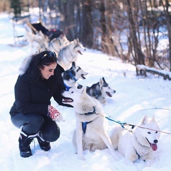 pajar Shoes - Pajar Canada women's snow black boots size 9 40