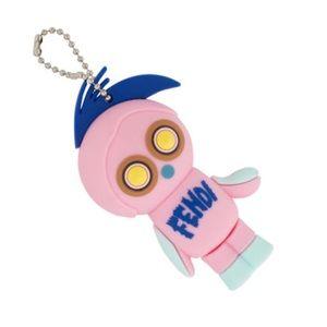 Fendi monster USB key chain