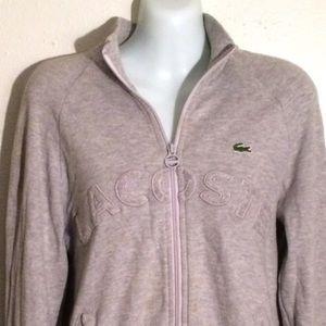 Lacoste Sweaters - AUTHENTIC Lacoste zipper jacket