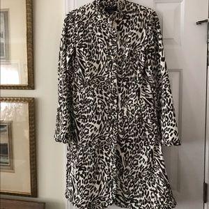 Etcetera Jackets & Blazers - ETCETERA leopard print coat $475 retail!, size 8