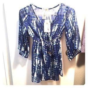 Beautiful NWT Jessica Simpson Tween sheer blouse!