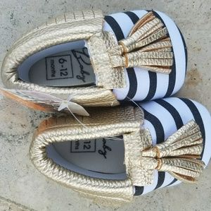 Other - New Baby Soft Soled Tassel Shoes