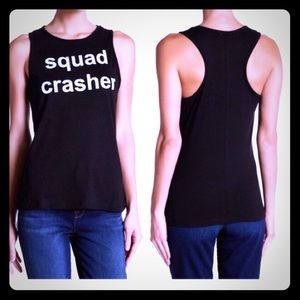 Graphic tank top BNWT