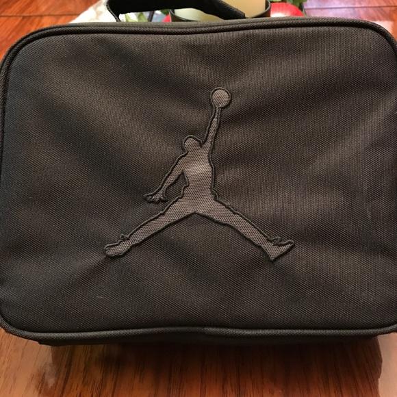 d38b97441d03b6 Jordan Handbags - Black Michael Jordan lunchbox