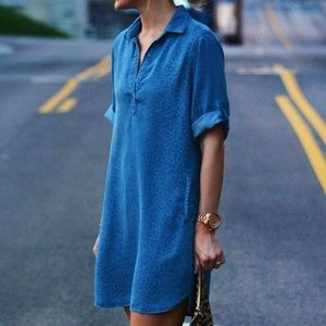 Anthropologie Chambray shirt dress